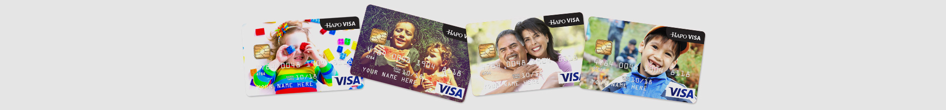 Personalize Your HAPO Credit Card