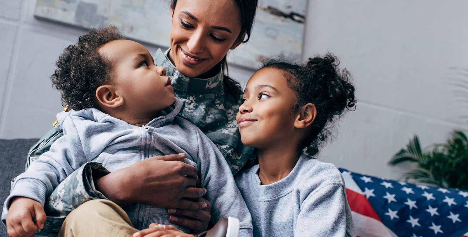 mom-kids-military